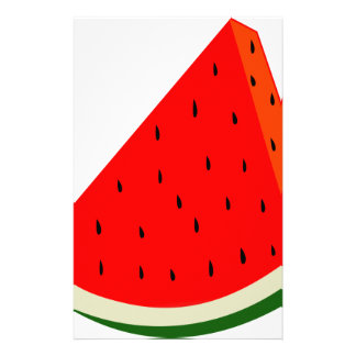 Watermelon Fruit harvest slice summer Stationery
