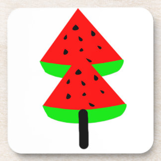 watermelon fruit tree coaster