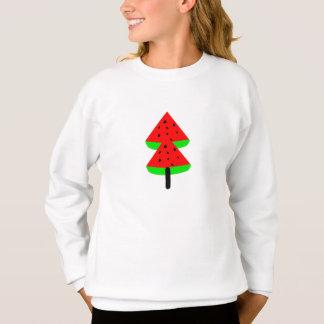 watermelon fruit tree sweatshirt