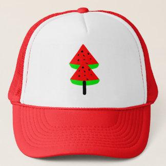 watermelon fruit trucker hat