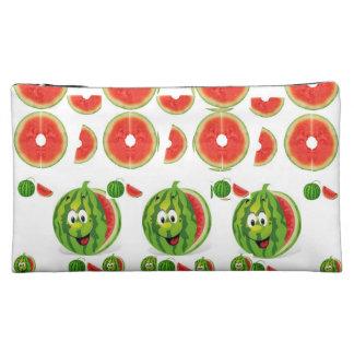watermelon girls baggette cosmetic bag
