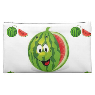 watermelon girls baggette cosmetic bag