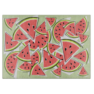 Watermelon Green cutting board