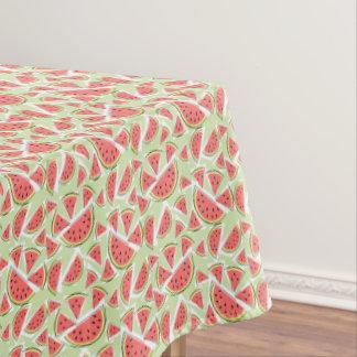 Watermelon Green Multi tablecloth small patten