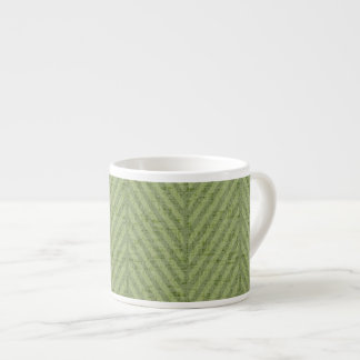 Watermelon Green Stripes Espresso Cup