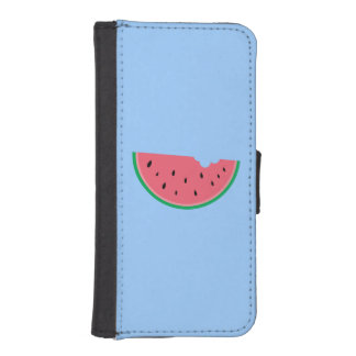 Watermelon Half Sweet Blue Phone Wallet Cases