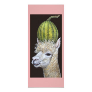 Watermelon Harvester flat card