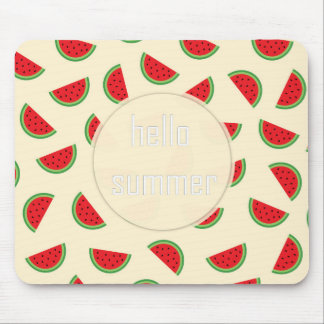 watermelon hello summer mousepad