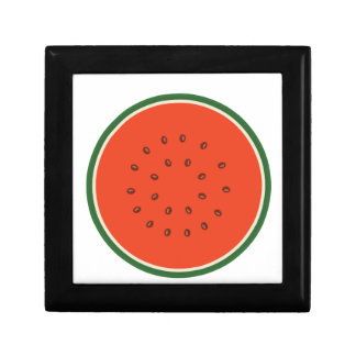 watermelon inside gift box
