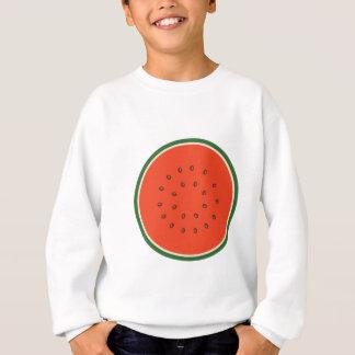 watermelon inside sweatshirt