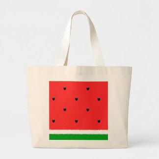 Watermelon jumbo tote. jumbo tote bag