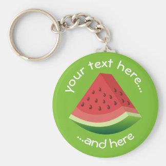Watermelon Key Ring