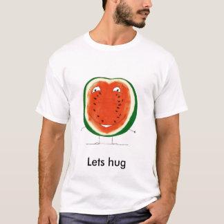 watermelon, Lets hug T-Shirt