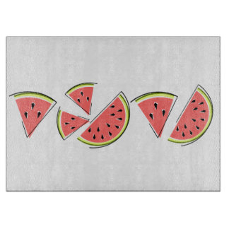 Watermelon Line cutting board