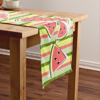 Watermelon Line Stripe table runner
