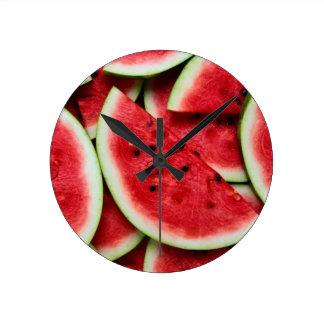 Watermelon medium wall clock