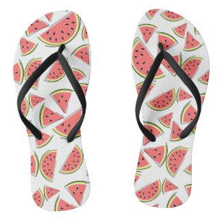 Watermelon Multi flip flops
