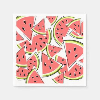 Watermelon napkins paper paper napkins