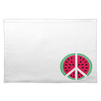 Watermelon of Peace Placemat