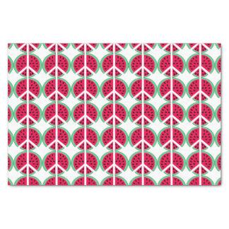 Watermelon of Peace Tissue Paper