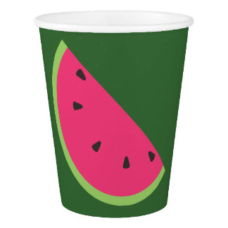 Watermelon Paper Cup