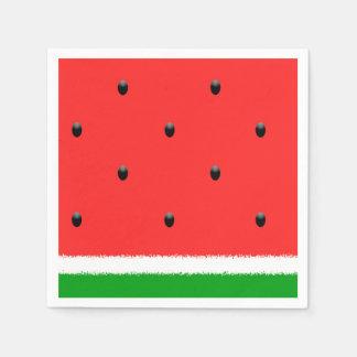 Watermelon paper napkins. disposable serviette