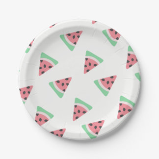 Watermelon Paper Plates 7 Inch Paper Plate