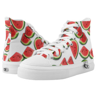 Watermelon Pattern High Tops
