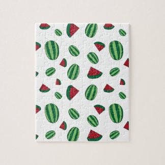 Watermelon Pattern Jigsaw Puzzle