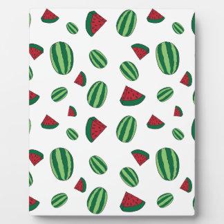 Watermelon Pattern Plaque