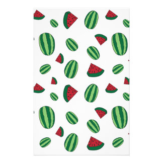 Watermelon Pattern Stationery