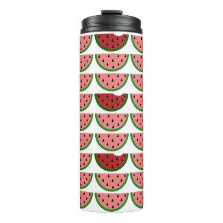 Watermelon Pattern Thermal Tumbler