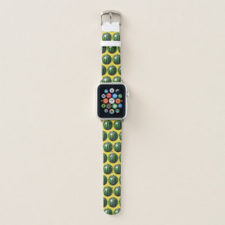 Watermelon Pattern Triangle Cut Apple Watch Band