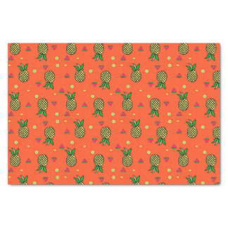 Watermelon & Pineapple Tropical Print Tissue Paper