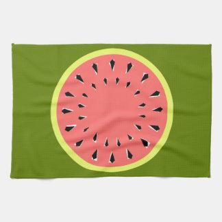 Watermelon Pink kitchen towel