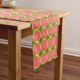 Watermelon Pink Multi table runner