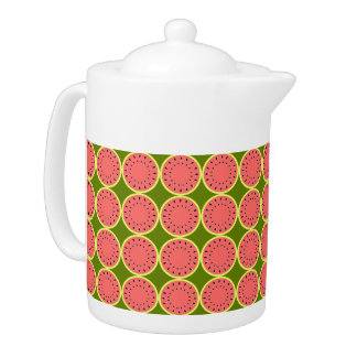 Watermelon Pink Multi teapot