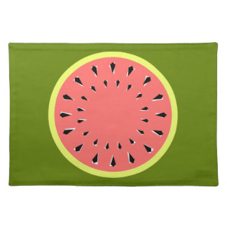 Watermelon Pink placemat cloth