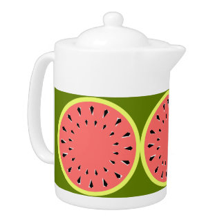 Watermelon Pink teapot