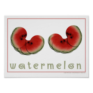 Watermelon Posters