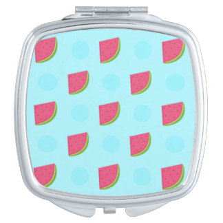 Watermelon Print Mirror For Makeup
