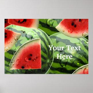 Watermelon Print Template