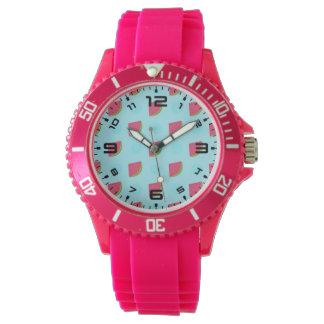 Watermelon Print Wristwatches