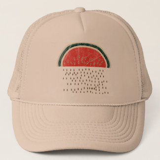 Watermelon Raining Seeds Trucker Hat