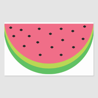 Watermelon Rectangular Sticker