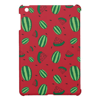 Watermelon Red Pattern iPad Mini Cover