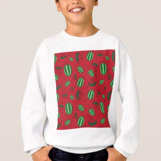 Watermelon Red Pattern Sweatshirt