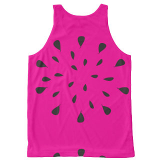 Watermelon Seeds All-Over Print Tank Top