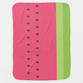 Watermelon SIice Baby Blanket