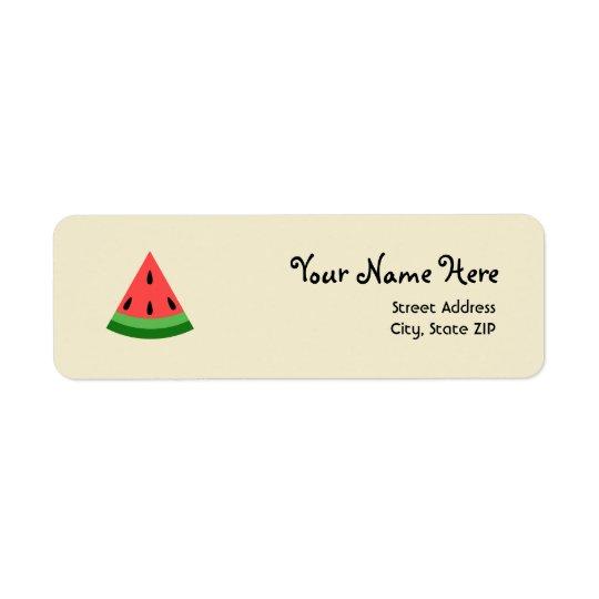 Watermelon Slice Address Labels